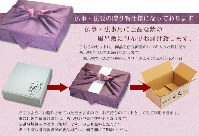 包装について 仏事 法要の 贈り物仕様
