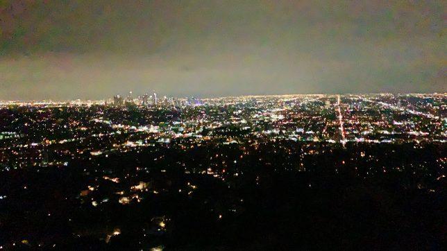 ロサンゼルスの夜景